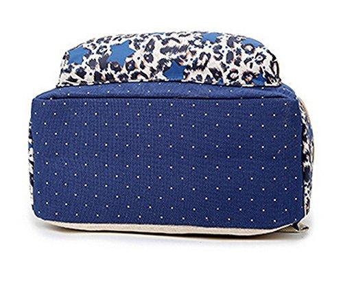 Viaje Para Y Marina Mochila Casual Dato Leopardo Mochilas Escolares Bolso Mujer Guerra Grand Moda Estrellas De Lona Tipo Juvenil Backpacks Capacidad wBZIzq