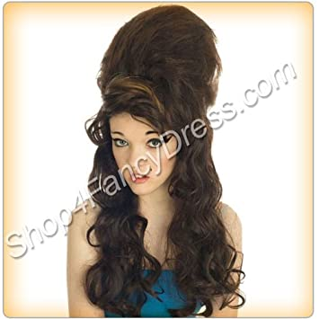 Amy Beehive Wig Fancy Dress Wig (peluca)