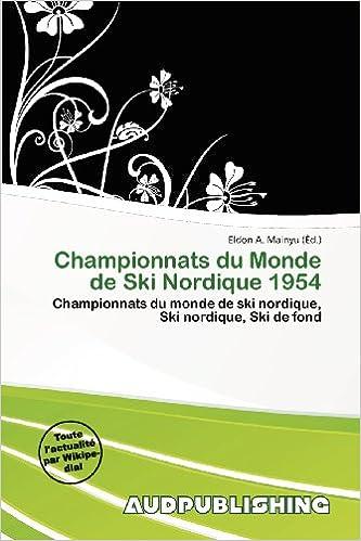 En ligne téléchargement gratuit Championnats Du Monde de Ski Nordique 1954 pdf