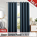 jinchan Blackout Curtain Panels (Sold Pair)