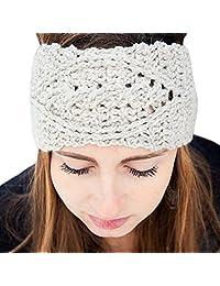 Susenstone®Womens Winter Hat Skiing Cap Knitted Beanie Headband