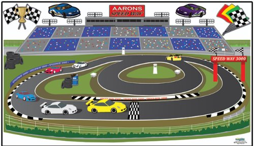 Race Track Adventures Wall Mural For Boys Car Theme Room Decals Part 54