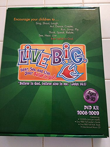 Live Big Dvd Kit Ages 9-10 Annual 2008-2009 ()