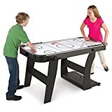 Hammacher Schlemmer The Foldaway Air Hockey Table
