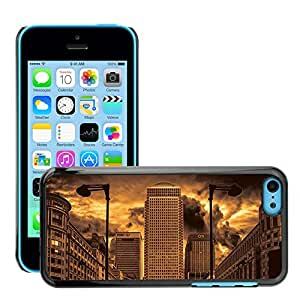 Hot Style Cell Phone PC Hard Case Cover // M00170180 City London England Architecture // Apple iPhone 5C