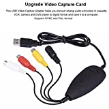 VHS to Digital DVD Converter, USB2.0 Audio/Video