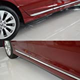 Generic Chrome Body Side Door Moulding Trim Overlay Cover Fit For Honda Accord MK9 2013 2014 2015 2016