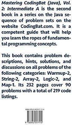 Mastering Codingbat (Java), Vol  2: Intermediate a: Gregor