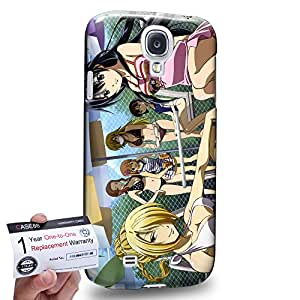 Case88 [Samsung Galaxy S4] 3D impresa Carcasa/Funda dura para & Tarjeta de garantía - Beelzebub Tatsumi Oga Kaiser de Emperana Beelzebub IV 1762