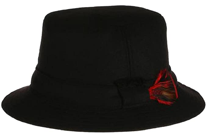 702ef51b9 Hanna Hats Men's Donegal Tweed Original Irish Walking Hat