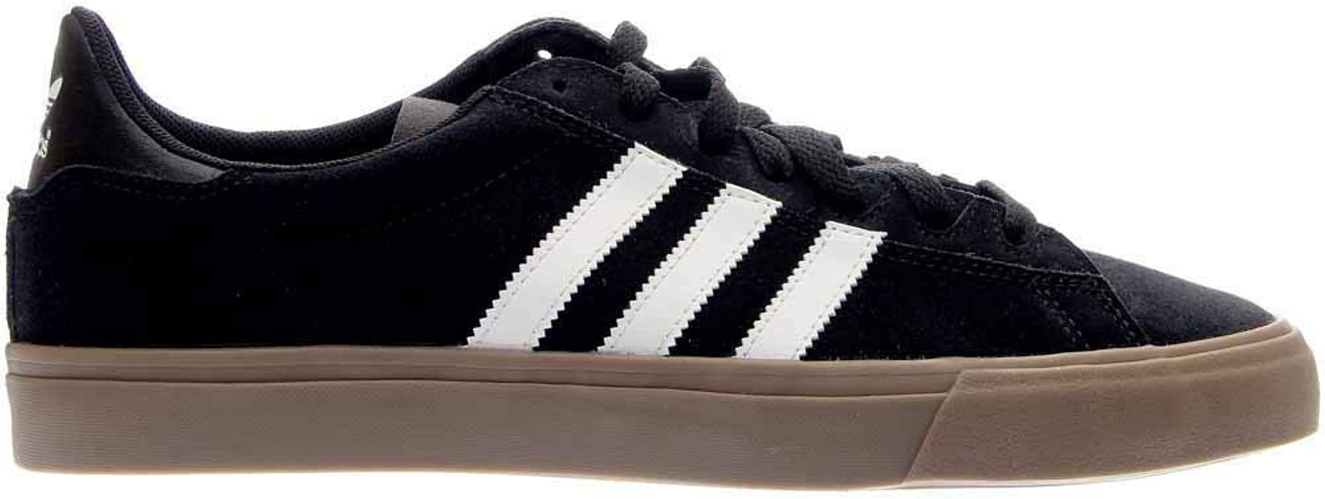 a4ea8167b8b61 adidas Campus Vulc II 80s Skate Shoes Black White Gum - 7 - Amazon ...