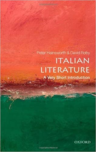 Book Italian Literature: A Very Short Introduction 1st edition by Hainsworth, Peter, Robey, David (2012)
