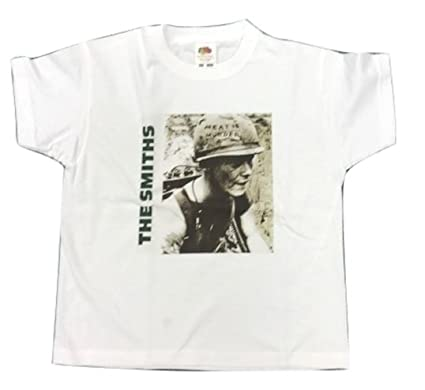 f61fb5cd16ed Image Unavailable. Image not available for. Colour: KIDS Childrens THE  SMITHS 'MEAT IS MURDER' T Shirt