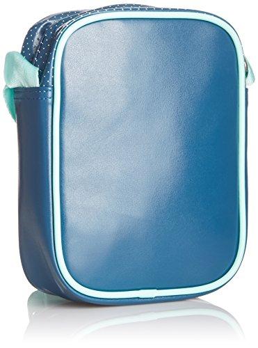 adidas Schultertasche Mini Bag Perf, Tribe Blue/Bahia Mint, 20 x 15 x 9 cm, G89661