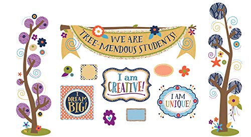 Carson Dellosa You-Nique Tree-Mendous Students Mini Bulletin Board Set (110325)