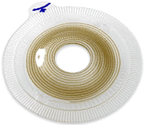 Coloplast Assura Two-Piece Pre-Cut Convex Light Extra-Extended Wear Skin Barrier with Flange and Belt Tabs 7/8