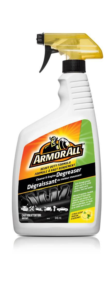 Armor All 18287 Foaming Cleaner and Engine Degreaser Spray, 946mL