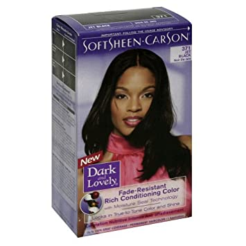Amazon.com : Fade Resistant Jet Black Permanent Hair Color ...