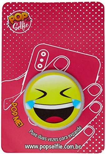 Apoio para celular - Pop Selfie - Original Emoji Ps341, Pop Selfie, 172360, Branco