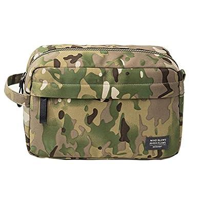 f44cf9c16758 iSuperb Portable Toiletry Bag Waterproof Travel Organizer Cosmetic Bag For  Women   Men Shaving kit bag