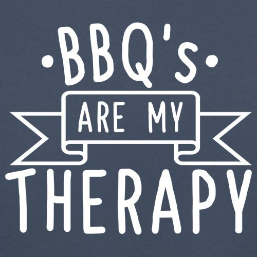 Baby//Toddler T-Shirt Dressdown BBQ is My Therapy 8 Colours Ages 3-24 Months