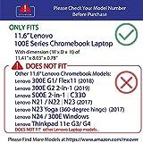 """mCover Hard Shell Case for 2018 11.6"""" Lenovo 100E"""