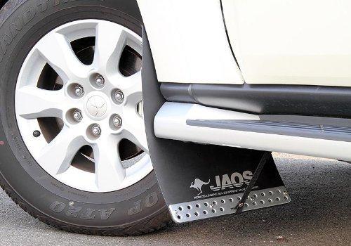 ジャオス(JAOS) JAOS マッドガードIII フロントセット ブラック パジェロ V80/90系 MUD GUARD3 BLACK FRONT PAJERO 06+ 【年式: 06.10-】 【適応: ALL】 B622327F B00F4NY48W