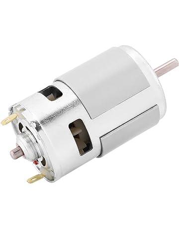 BQLZR 10 x 6 x 7,5 cm Metallo argento DC 12V 10 RPM Motore ad azionamento elettrico ad angolo retto a coppia elevata con ingranaggio quadrato Motore ad angolo retto