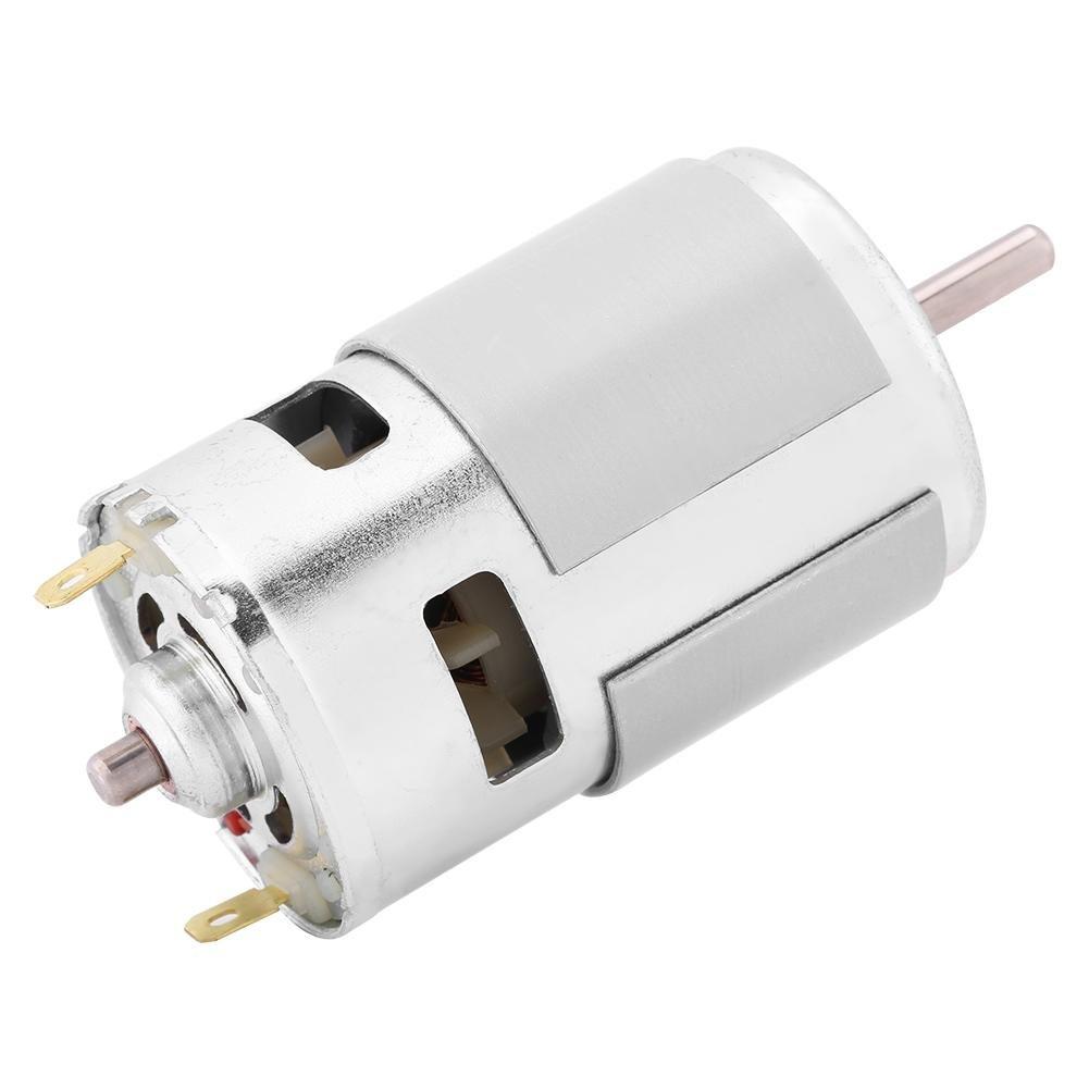 FTVOGUE Brushless Magnet DC Motor 12V 0.32A 150W 13000-15000RPM DC Motor de gran potencia de alto par para herramientas eléctricas