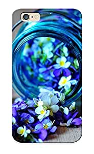 New Arrival Case Cover With DZDXljr1364zOmsu Design For Iphone 6- Jars Of Flowers