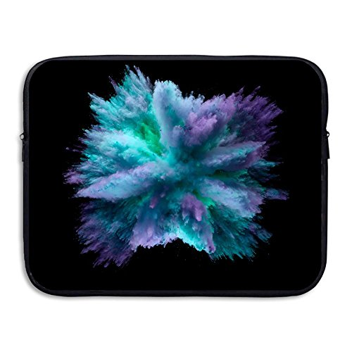 Computer Bag Laptop Case Sleeve Purple Blue Mist Waterproof 13-15in IPad Macbook (Blue Mist Apparel)