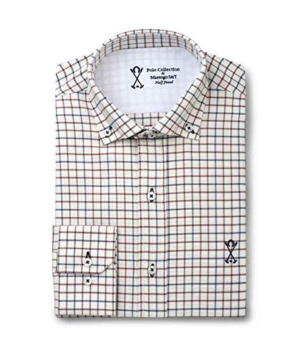 40187368c5 Camisa manga larga semi-entallada
