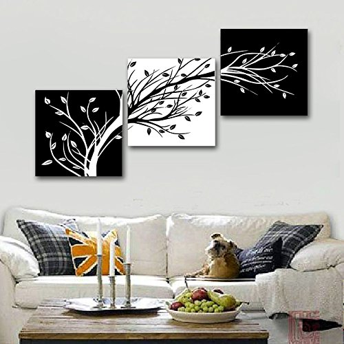 Wieco Art 3 Piece Canvas Prints Wall Art for Living Room ...