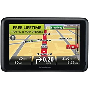 Tomtom Go Tm  Inch Bluetooth Gps Navigator With Lifetime Traffic Maps And Voice Recognitiondiscontinued By Manufacturer