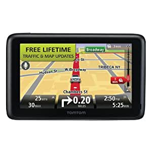 TomTom GO 2535TM 5-Inch Bluetooth GPS Navigator with Lifetime Traffic & Maps and Voice Recognition(Discontinued by Manufacturer)