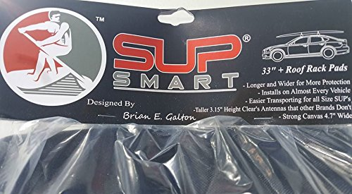 Heavy Duty 18' Car Tie Down Roof Rack Strap for SUP Kayak Surfboard by SUPSmart (Image #1)