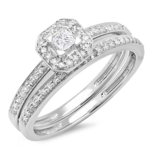 0.55 Ct Princess Diamond - 8