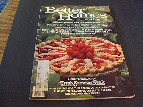 Better Homes and Gardens Jun 1979 Cookbook Catalog Of Fresh Summer Fruit