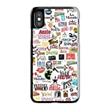 Cell World LLC - Broadway Musical Collage Hard Rubber Phone Case for Apple iPhone XR