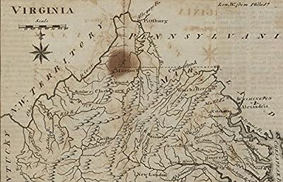 Virginia N.W. Territory Kentucky 1795 scarce map Scott Bailey Wheat & Brun #569