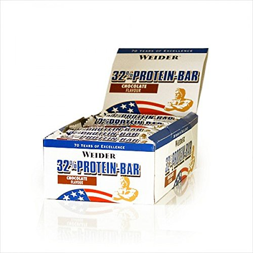 Weider 32% Protein Bar, Eiweiß-Riegel à ( 30x 60g) BIG BOX - MIX-BOX