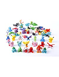 Oliasports 24 Pokemon Action Figures
