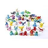 Oliasports 24 Pokemon Action Figures