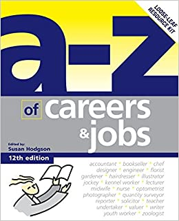 An A Z Of Careers And Jobs Ring Bound 3 May 2005