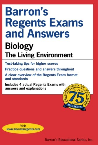 Barron's Regents Exams and Answers: Biology cover