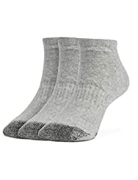 Galiva Boys' Cotton Extra Soft Low Cut Cushion Socks - 3 Pairs
