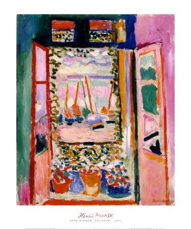 amazon com henri matisse the open window collioure 1905 art print