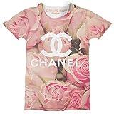 Floral Pink Rose Designer Printed Unisex T Shirt