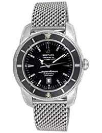 Breitling Men's A1732024/B868SS Superocean Heritage Black Dial Watch