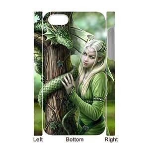 3D Bumper Plastic Case Of Fairy customized case For Iphone 4/4s